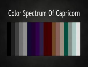Color Capricorn