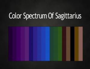 Color Sagittarius