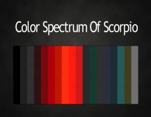 Color Scorpio