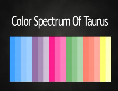 colors of the zodiac astrology color palettes abstar ology