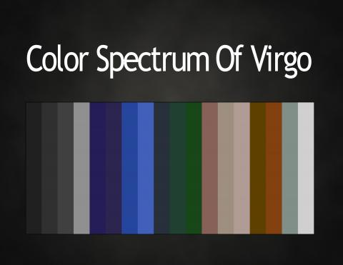 Colors The Zodiac Astrology Color Palettes Abstar Ology