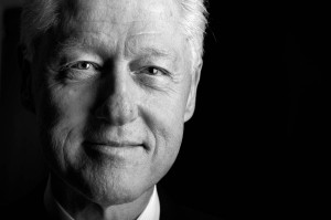 President William Jefferson Clinton in Harlem, New York